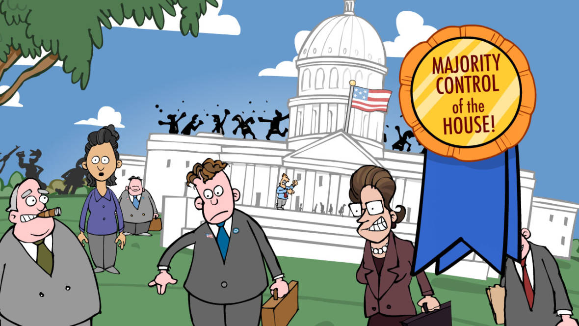 'Will-It-Flip?' A Cartoon Look at California's House Races