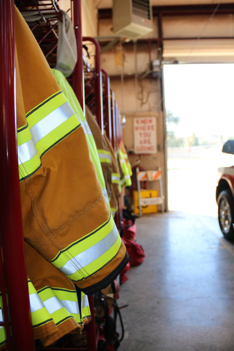 Redwood Valley relies on a largely volunteer firefighting department like many rural towns.
