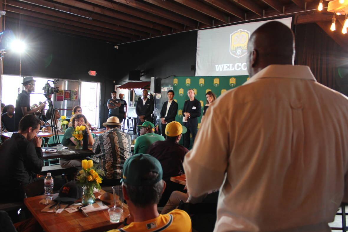 A's Try to Rally Community Support Around Port Stadium Site