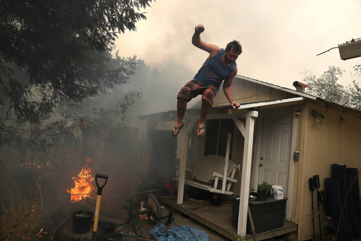 'It Never Stopped Coming': Photojournalist Reflects on the North Bay Fires One Year Later