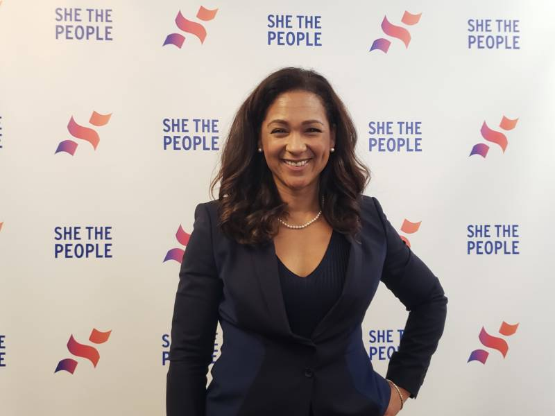 She the People founder Aimee Allison.