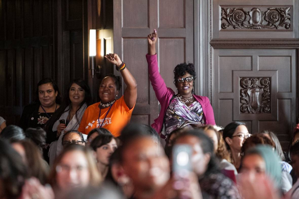 Women of Color Want to Leave an Impact This Election