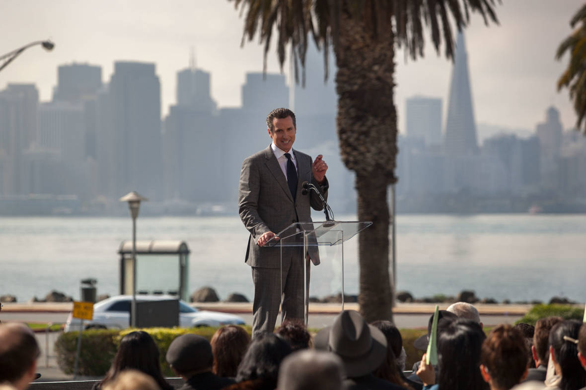 Newsom's California Business Holdings Could Pose Ethics Bind