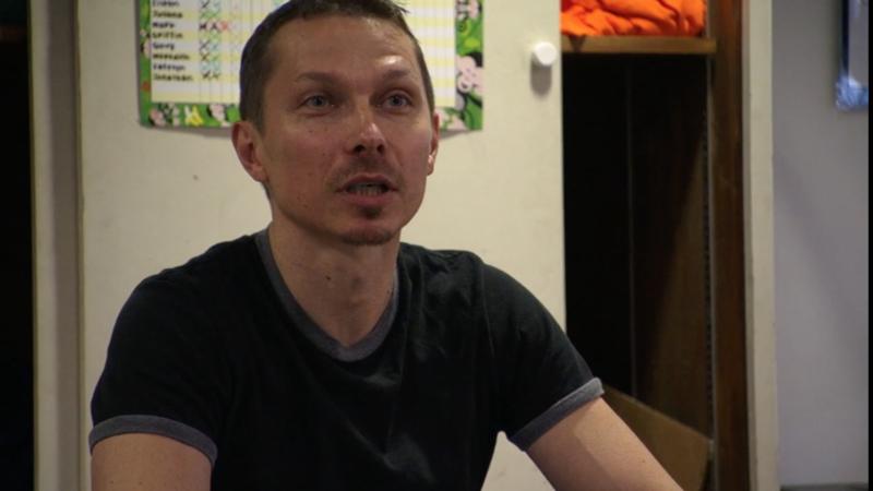 "Viktor Kabaniaev in a still from the 2012 dance documentary ""First Position."""