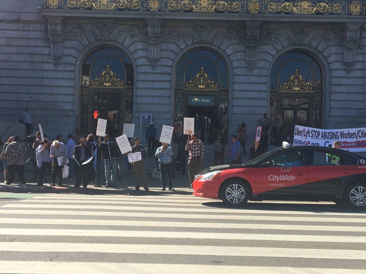 Many S.F. Cabbies Are Losing One of the Last Places They Might Make a Buck