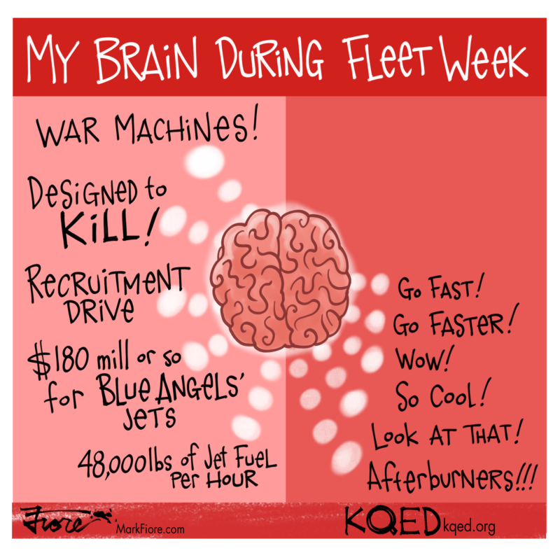 Fleet Week by Mark Fiore
