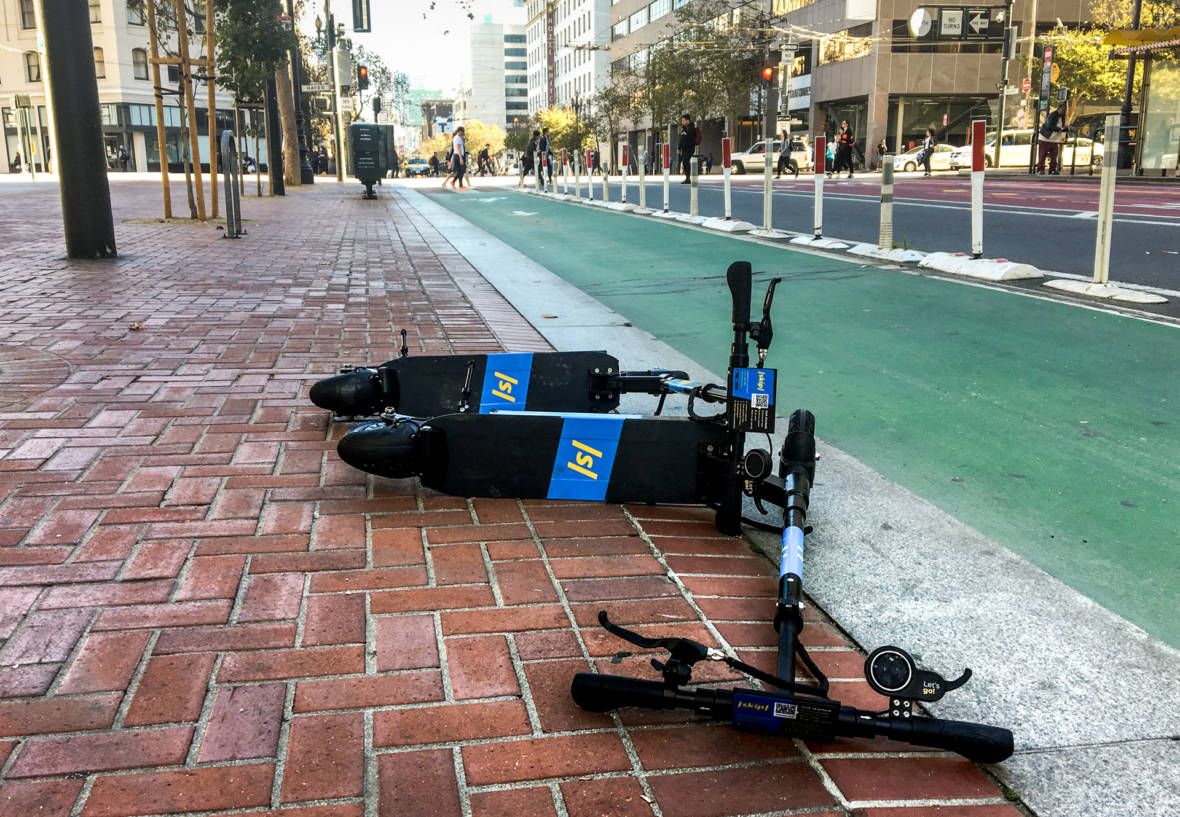 San Francisco's Scooter Wars Continue, but Not on the Street
