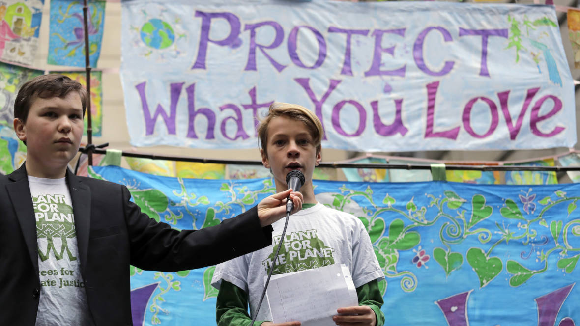 Young Activists Can Sue Government Over Climate Change, Supreme Court Says