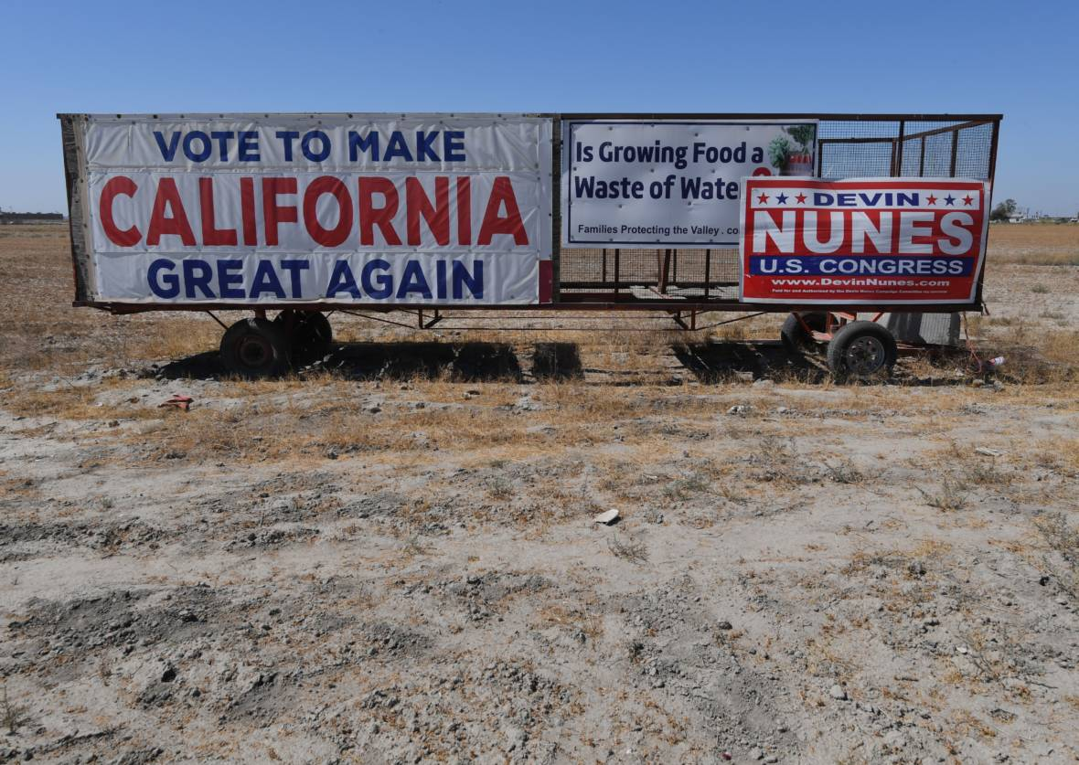 Whiter, Poorer, Trumpier: the New Republican California
