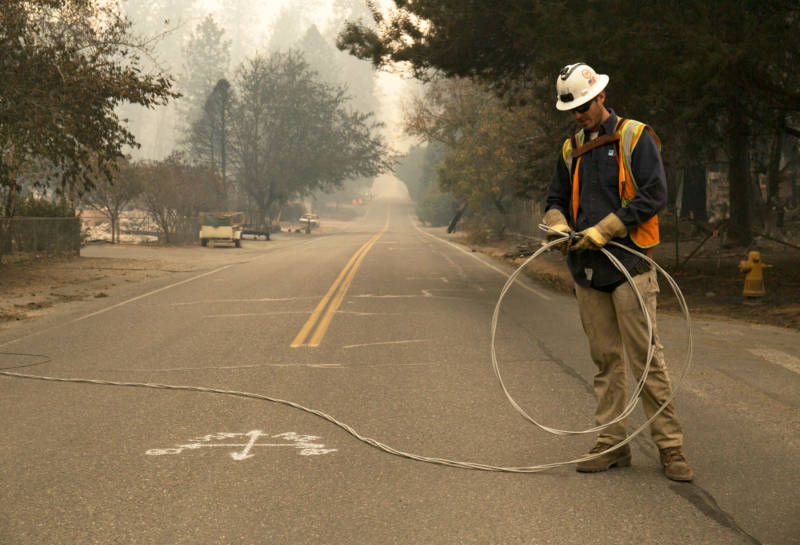 PG&E, Facing Vast Payout for Wildfires, Says It Will File for Bankruptcy