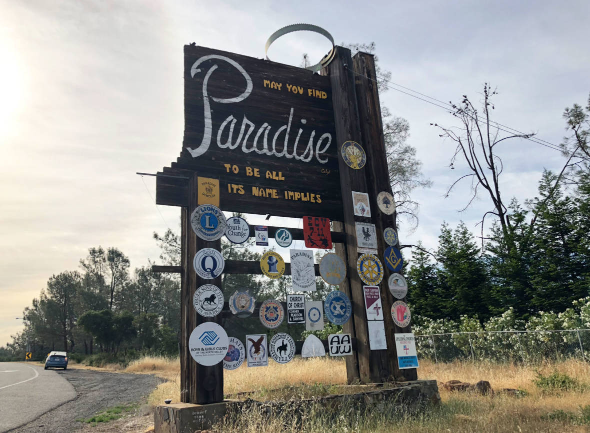 PHOTOS: Paradise, Before and After the Camp Fire