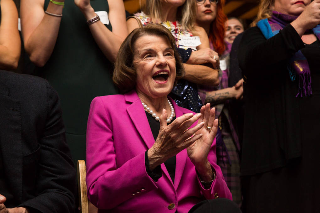 Overcoming Questions About Her Age, Feinstein Wins Re-Election to U.S. Senate