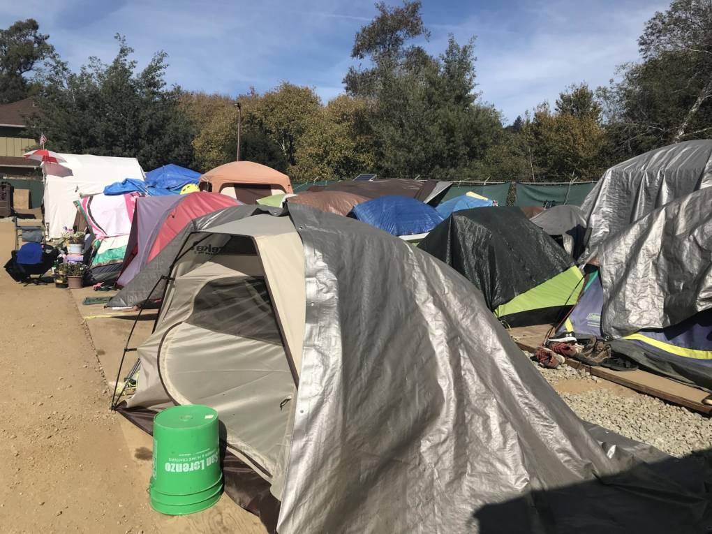 Santa Cruz to Close Outdoor Homeless Camp With No Winter Replacement