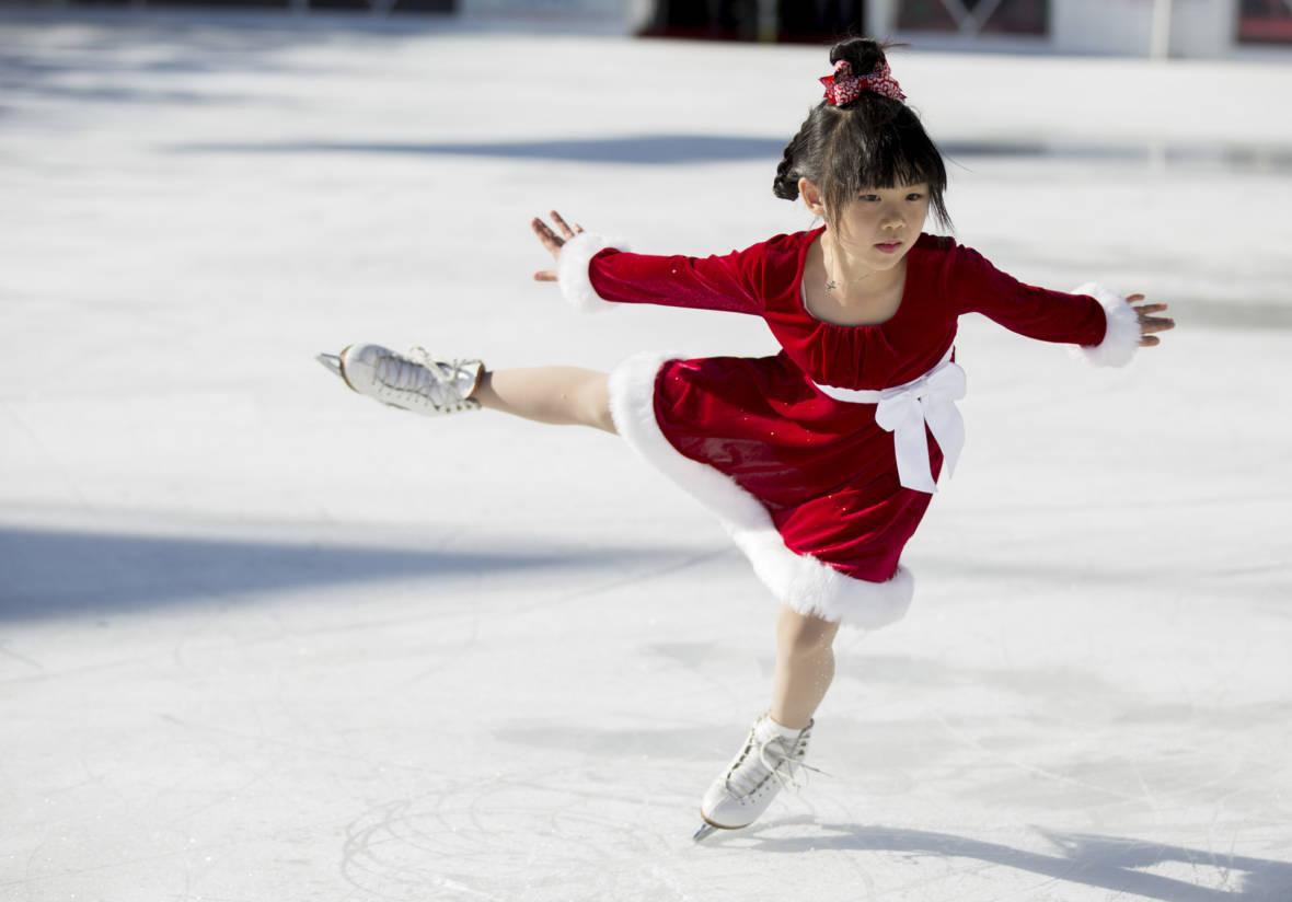 PHOTOS: Skating Into a New Holiday Tradition at San Francisco's Civic Center