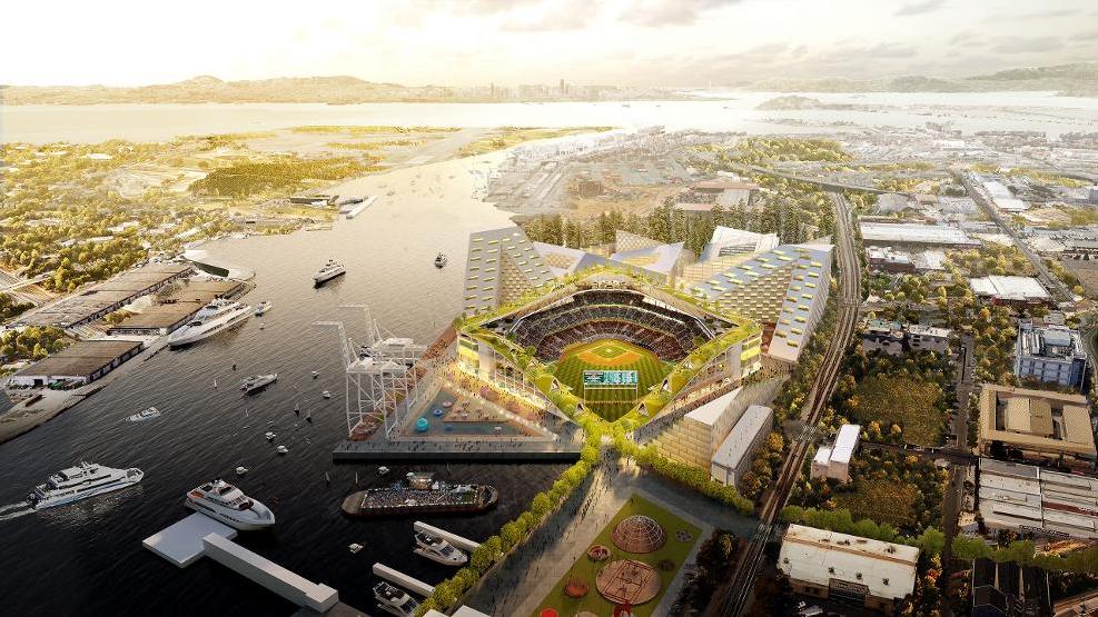 Oakland A's Plan a 'Jewel Box' of a Waterfront Ballpark