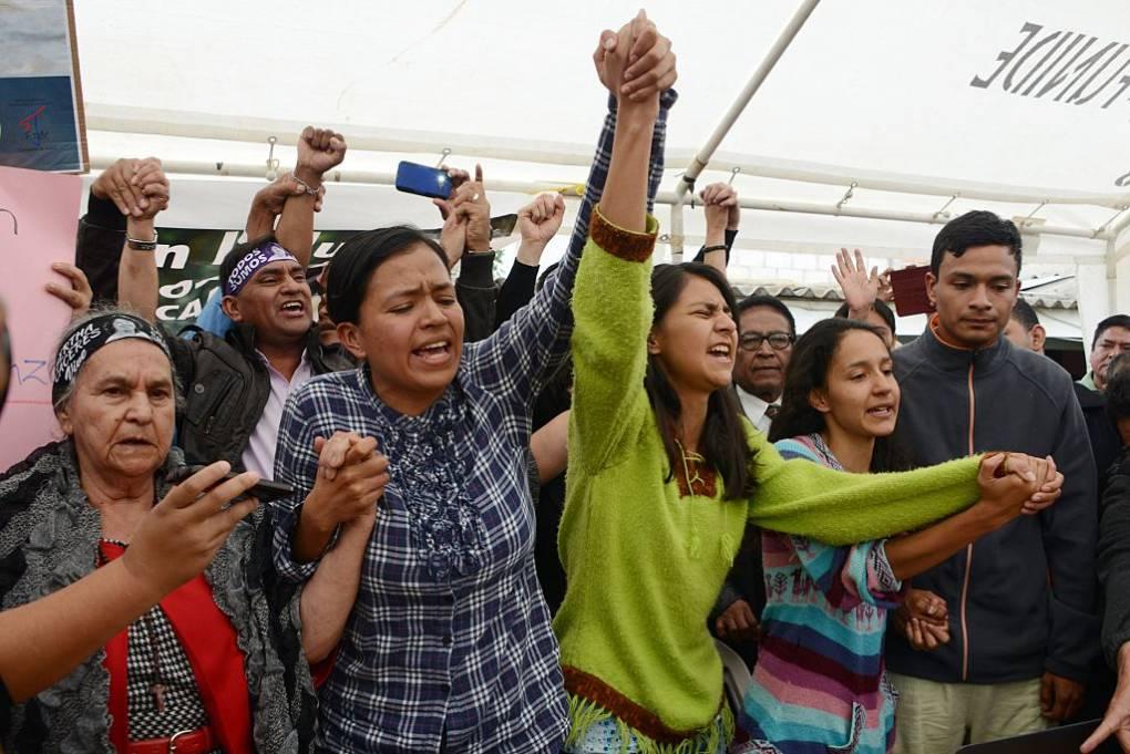 Daughter of Slain Environmentalist Connects Migrant Caravan to Honduran Government's Failures