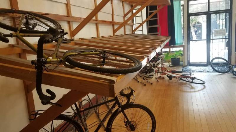 Box Dog Bikes in San Francisco was burglarized in August 2017, and dozens of bicycles were taken.