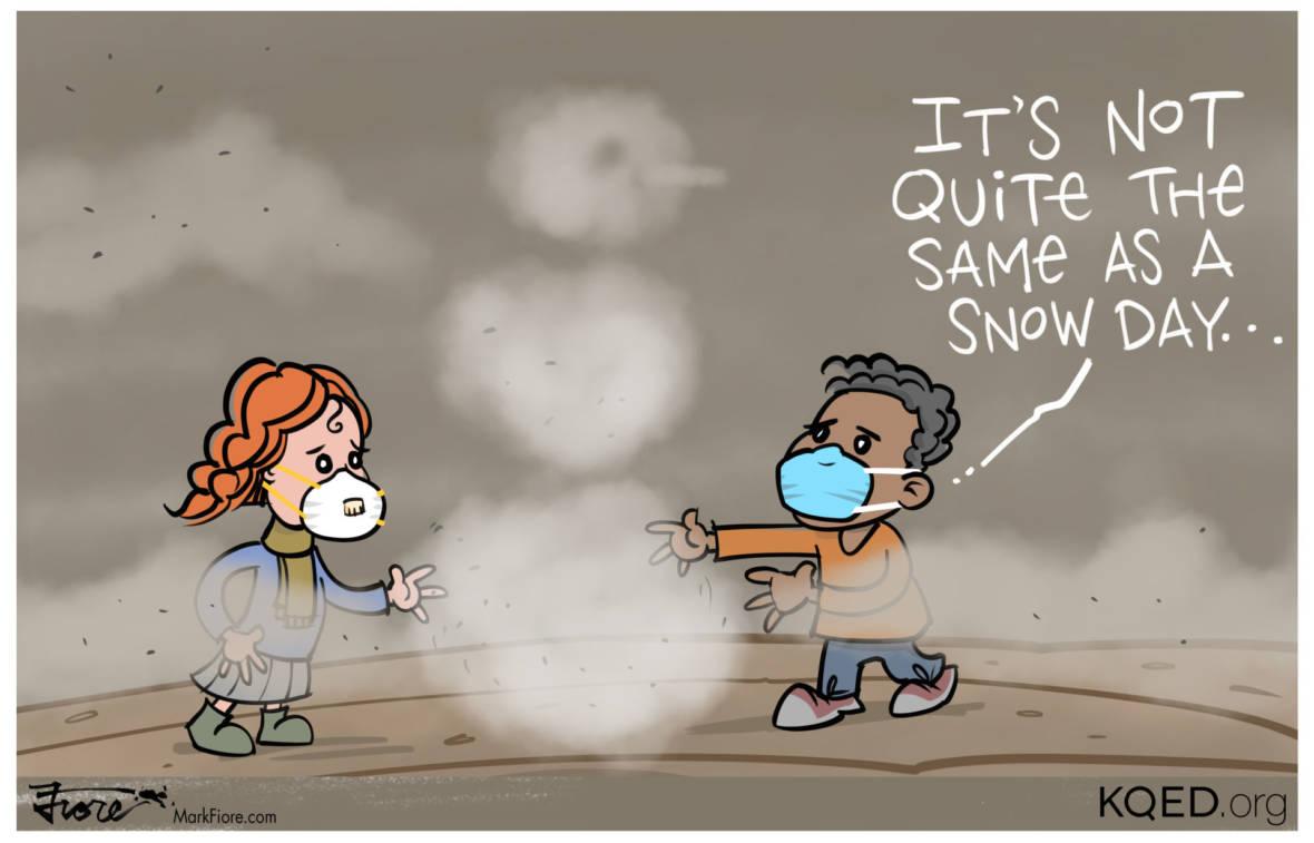 A Sad Smoke Day