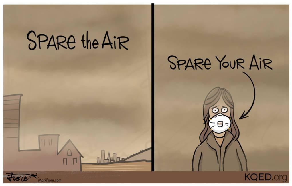 Unhealthy Air Blankets the Bay Area