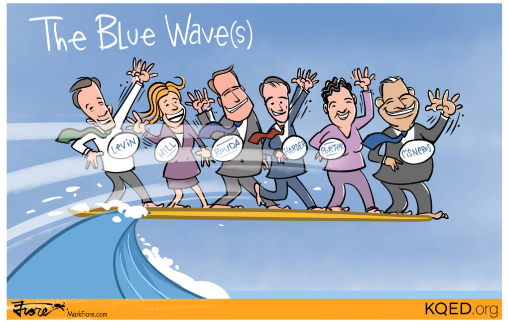 Surf's Up for Dems