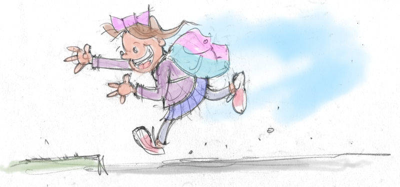 Running by Mark Fiore