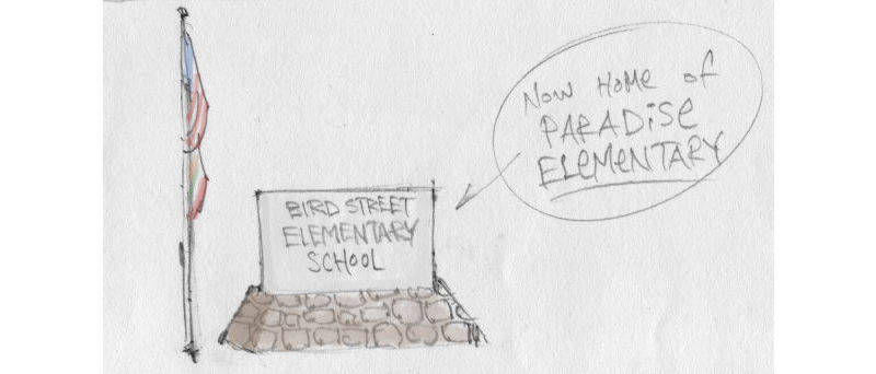 Bird Street by Mark Fiore