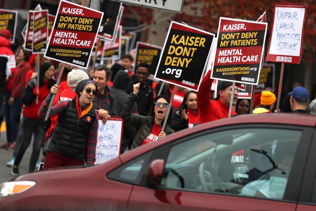 Mental Health Workers Start Weeklong Strike in California