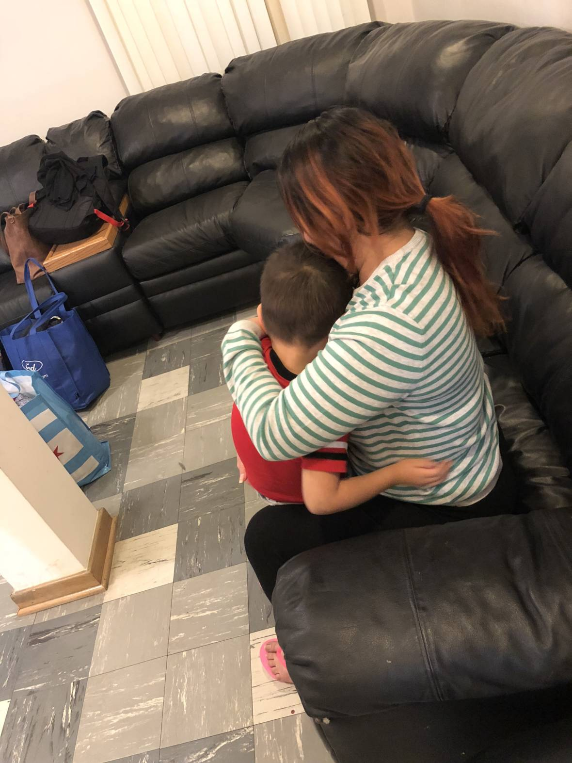 After 8-Month Separation, Salvadoran Asylum-Seeker Reconnects With 4-Year-Old Son