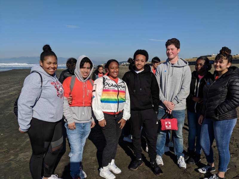 Students from different California Academy of Sciences programs participated in the bioblitz.