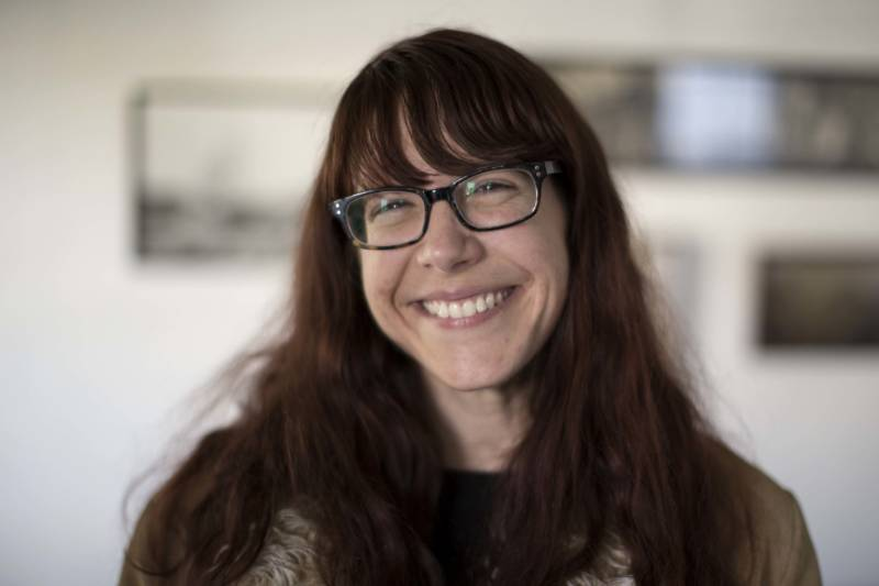 Michelle Krasowski is a librarian who rents an apartment in North Oakland.