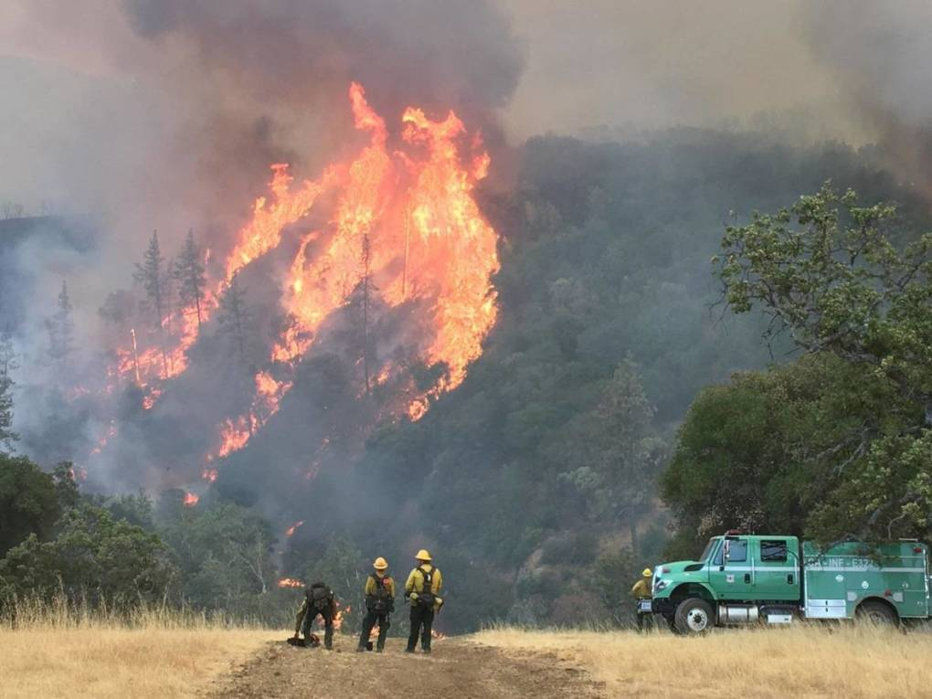 Report Calls Forest Service Response to 2016 Big Sur Fire a 'Firefighting Boondoggle'