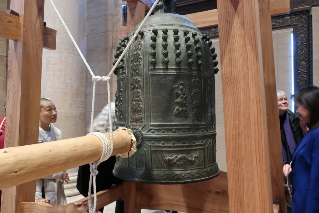 Ringing in the New Year With a 2,100-Pound Bell