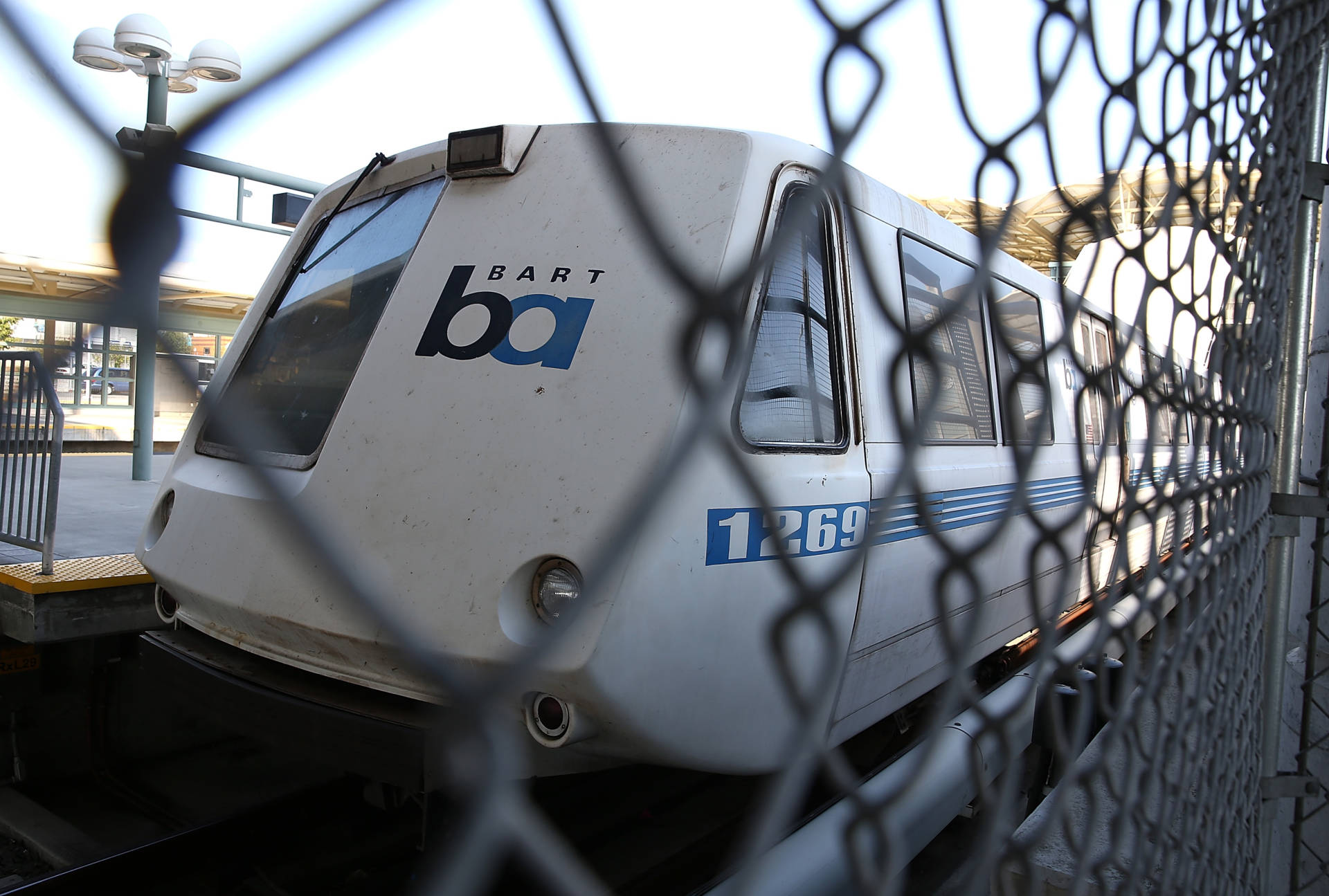 John Lee Cowell is charged with killing 18-year-old Nia Wilson at a BART station last summer.  Justin Sullivan/Getty Images