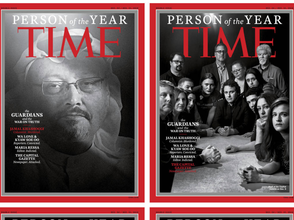 Time Person of the Year for 2018: Journalists Fighting 'War On Truth'