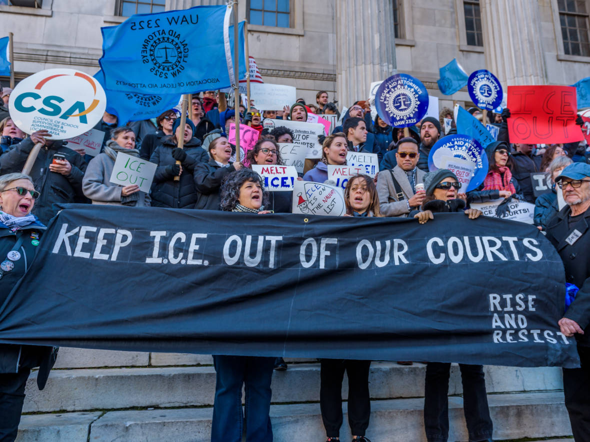 Judges Ask ICE to Make Courts Off Limits to Immigration Arrests
