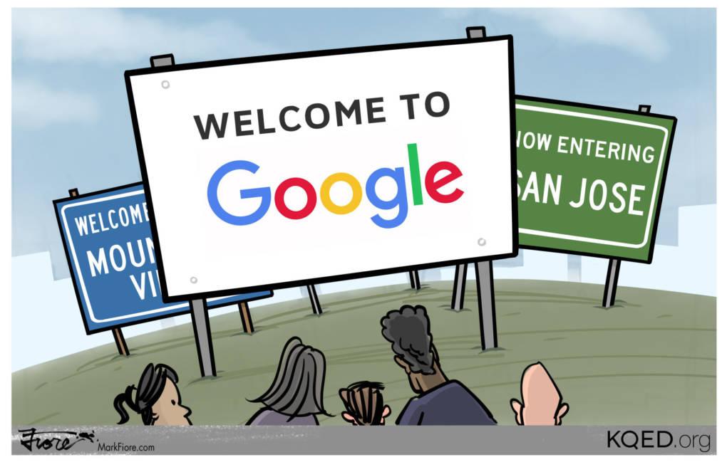 The Google Land Rush