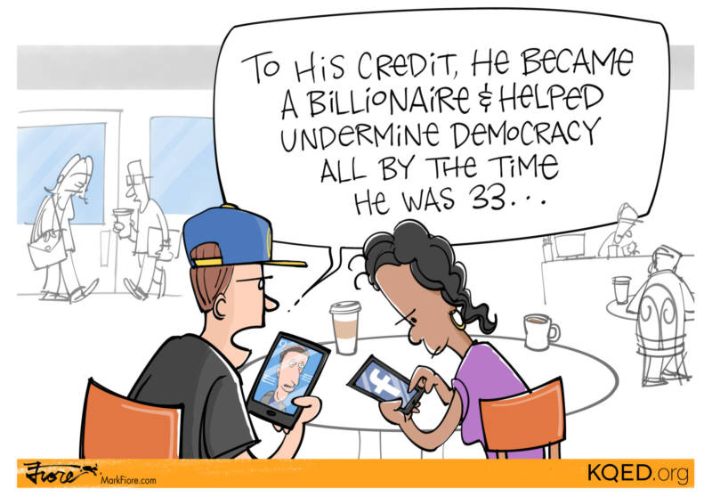 To His Credit by Mark Fiore