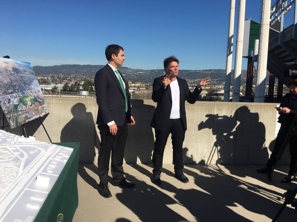 A's Ballpark Details: The Gondola, the Roman Ruin and the 'Green Heart' of Oakland