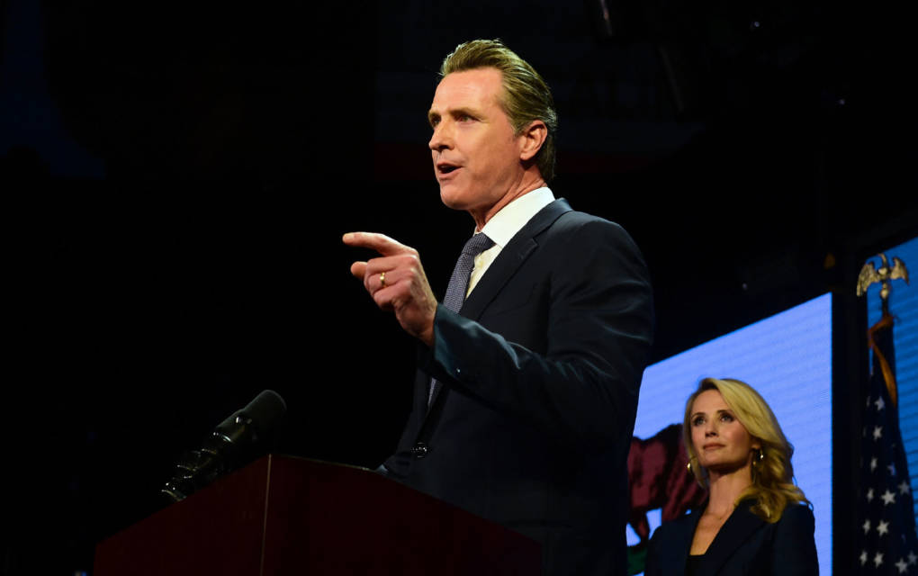 Newsom's Tactic: Not Yet Health Care for All, But Health Care for More