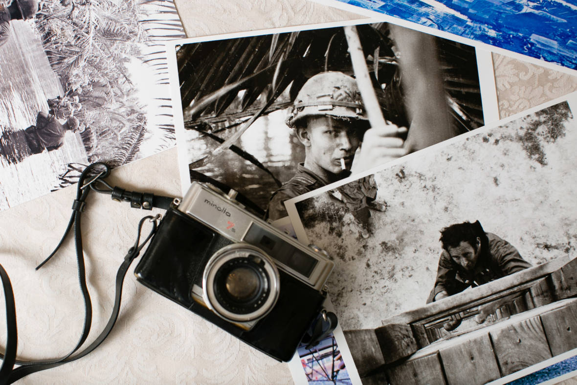 After 40 Years of Silence, a Vietnam Vet Uses Photos for Healing