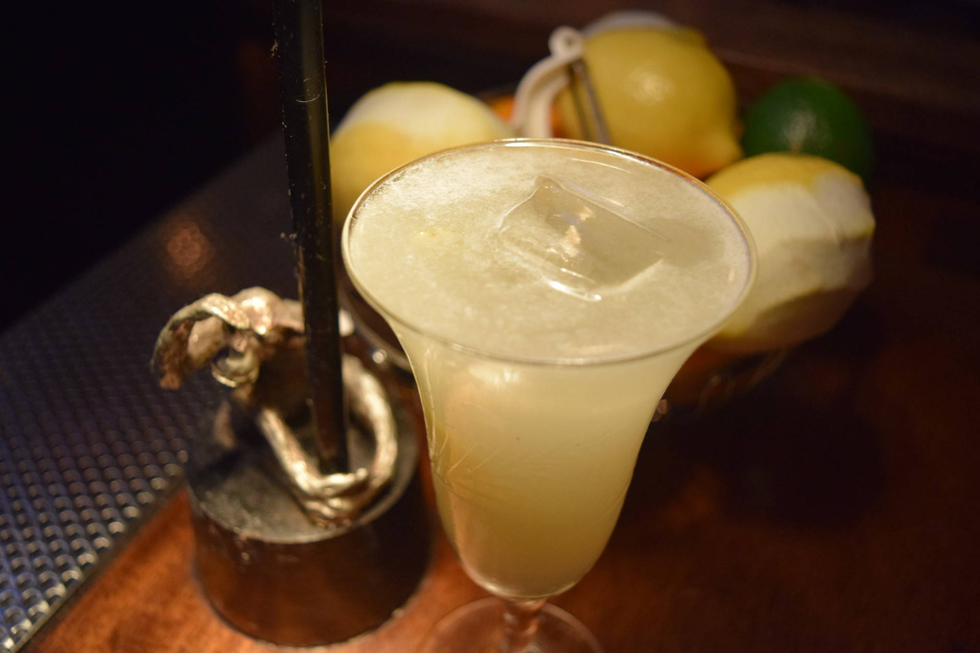 A Pisco Punch made at San Francisco's Comstock Saloon Carly Severn/KQED