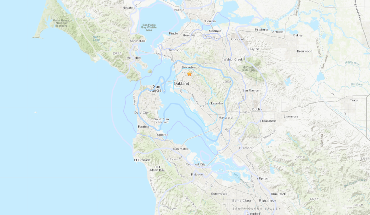 Another Morning, Another Wake-Up Quake in the East Bay Hills