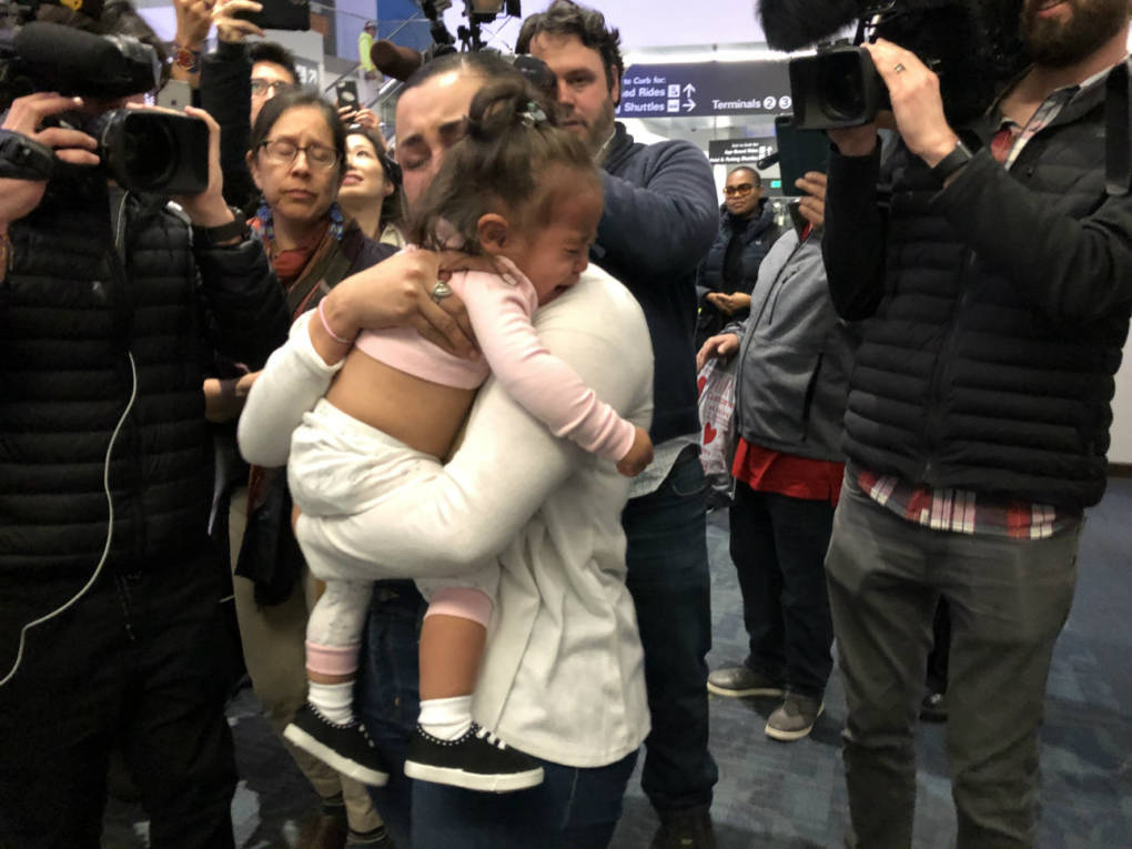 Toddler Separated From Family at Border Reunited with Mom in San Francisco