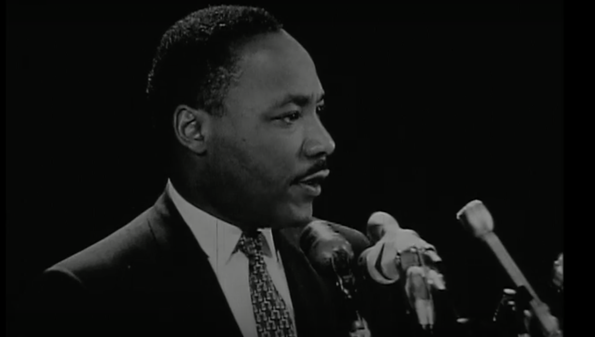 Martin Luther King Jr. at Stanford on April 14, 1967. The University is now home to the Martin Luther King, Jr. Research and Education Institute, which has released recently discovered recordings of his speeches at Riverside Church in New York City.