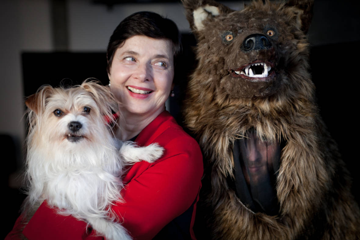 Isabella Rossellini Consorts with Wildlife at the Cal Academy of Sciences