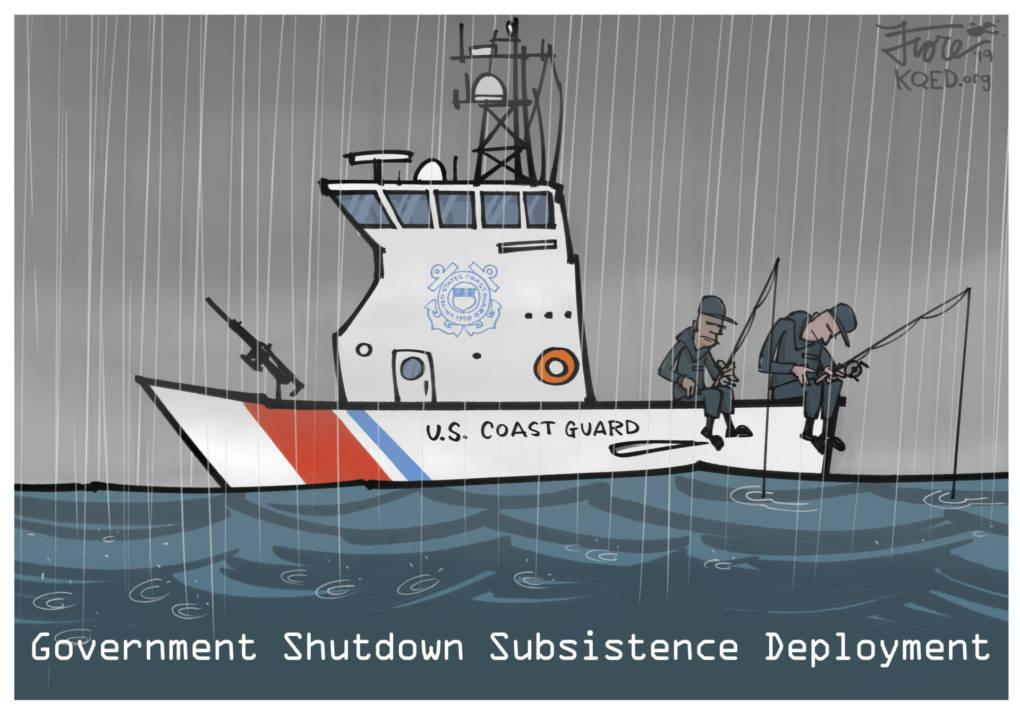 No Paychecks for the Coast Guard