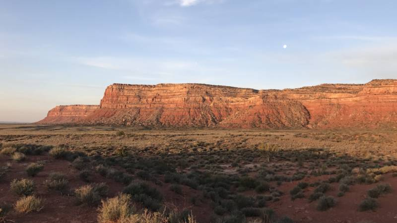 Bureau of Land Management land in the southern Utah desert. The partial federal government shutdown has furloughed thousands of land agency workers, leaving work on critical projects mostly stopped.
