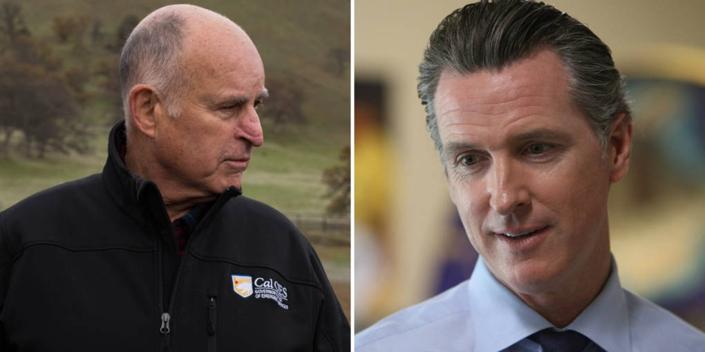 In Style and Substance, Gavin Newsom Goes His Own Way
