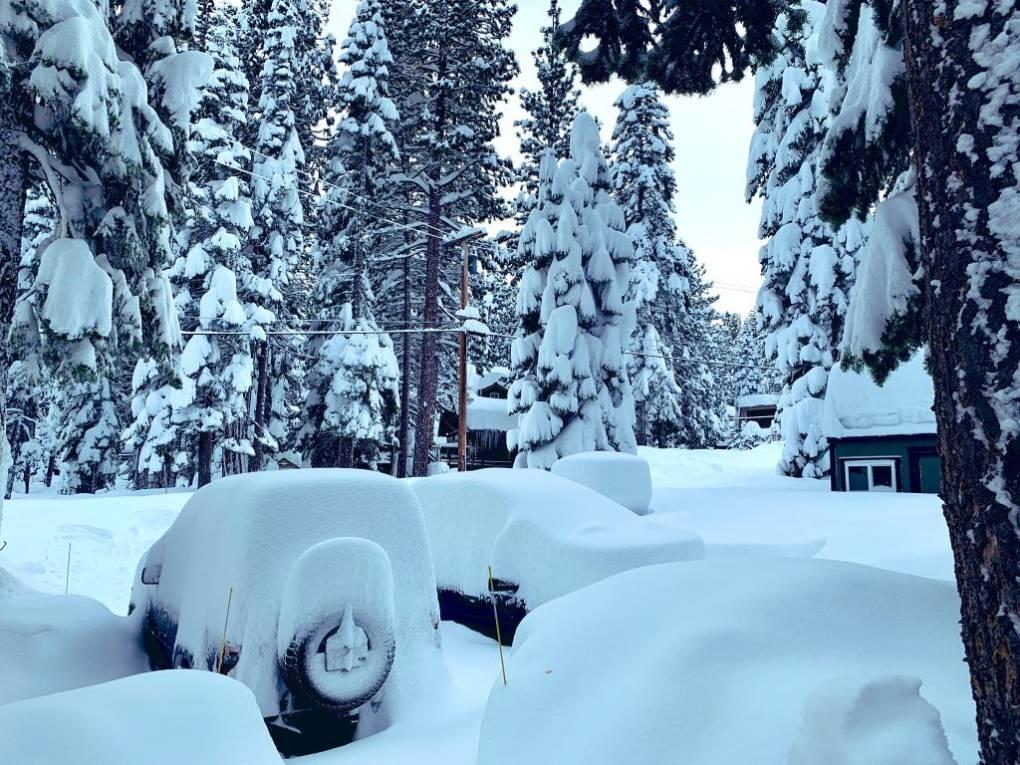 PHOTOS: Weekend Storm Brings Several Feet of Fresh Snow to Lake Tahoe