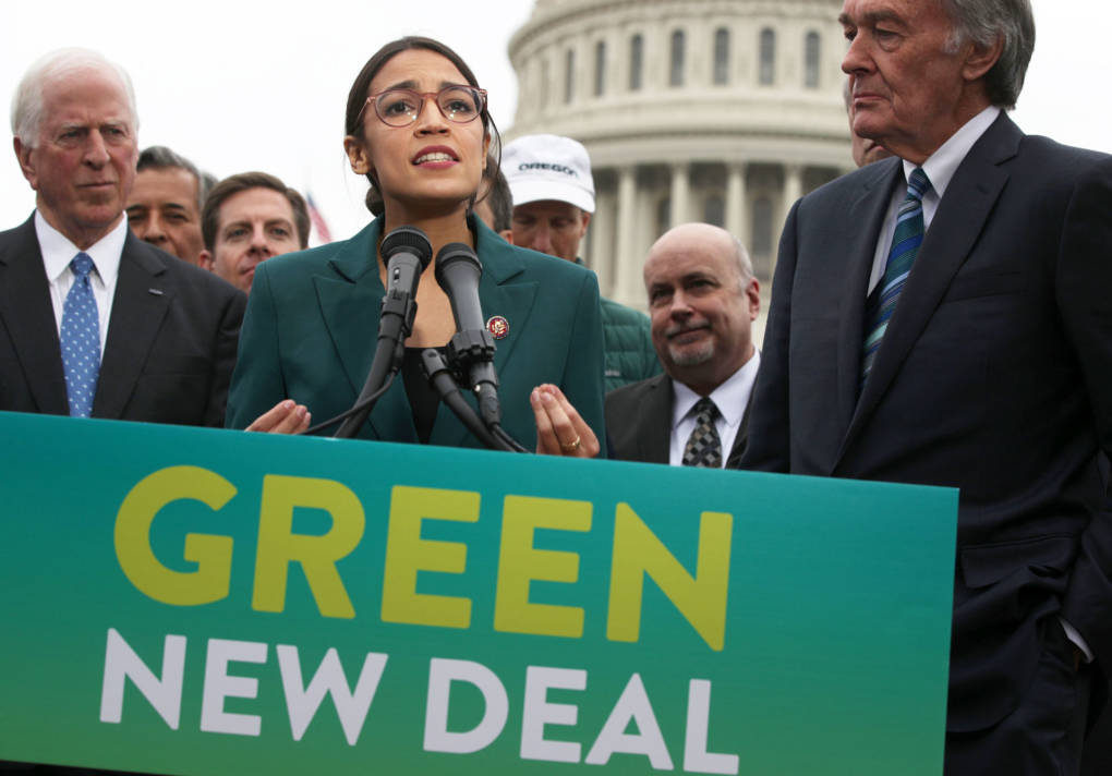 Rep. Ocasio-Cortez Releases Green New Deal — But Pelosi Stops Short of Endorsing
